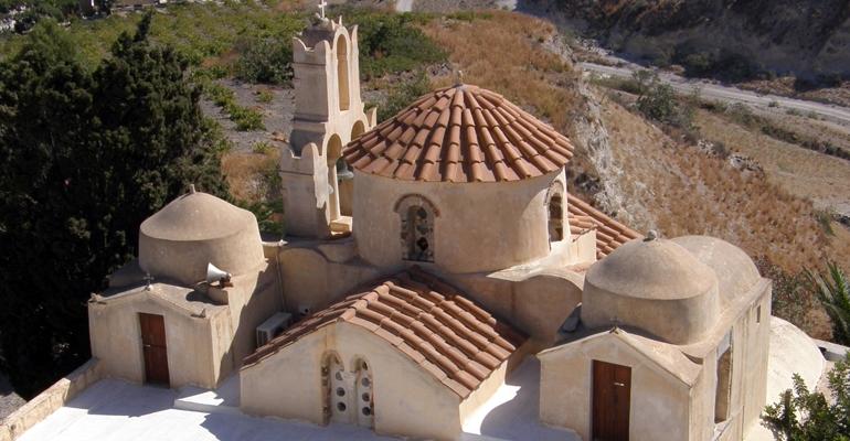 Ο Ναός της Παναγίας Επισκοπής